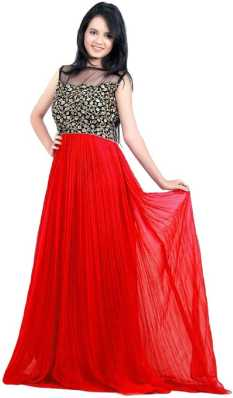 3db462c6b Red Gowns - Buy Red Gowns Online at Best Prices In India | Flipkart.com