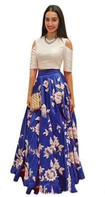 ac4b1c99f7 Crop Top with Skirt - Buy Crop Top And Long Skirt Online at Best ...
