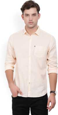8c23269e6a4231 Linen Shirts - Buy Linen Shirts online at Best Prices in India ...