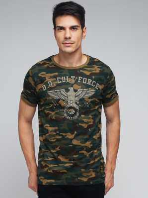 b81357a6927 Indian Army T Shirts - Buy Military / Camouflage T Shirts online at ...