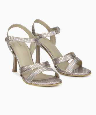 e199815efe8743 Silver Sandals - Buy Silver Sandals online at Best Prices in India ...