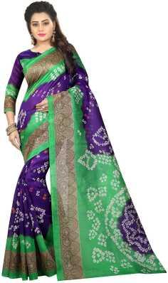 b7d990829997b Bandhani Sarees - Buy Bandhani Sarees   Jaipuri Sarees Online at ...