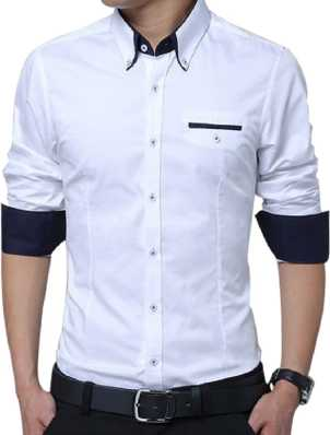 f523cd4f8f9 White Shirts - Buy White Shirts Online at Best Prices In India ...