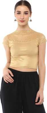 1b176c698ec289 Golden Blouse - Buy Golden Blouse Designs online at best prices ...
