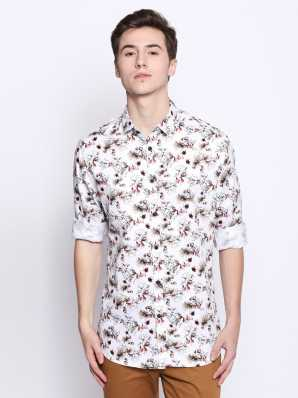 2f0838f4 Floral Print Shirts - Buy Floral Print Shirts Online at Best Prices ...