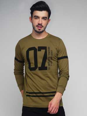 1450bc13bc97 Full sleeve Mens T-Shirts online at Flipkart.com