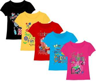 560b3f3d6 Girls T-Shirts Online At Best Prices In India - Flipkart.com