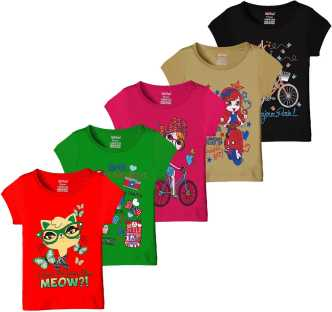 Girls Kids T Shirts And Tops Online Store Flipkart