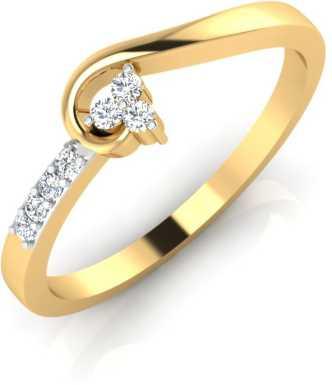Gold Rings Buy Gold Rings For Women Girl Online At Best