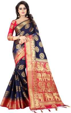 b64674b84ba Kanjivaram Silk Sarees - Buy Kanjivaram Silk Sarees online at Best Prices  in India