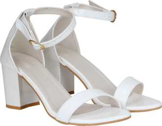 40e131b65fa White Heels - Buy White Heels Online at Best Prices In India ...