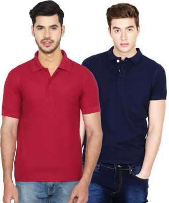 Polo Neck T-Shirts for men s - Buy Mens Polo T-Shirts Online at Best ... feaea5e23