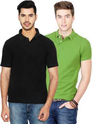 88821eb90aef Polo T-Shirts for men s - Buy Mens Polo T-Shirts Online at Best Prices In  India