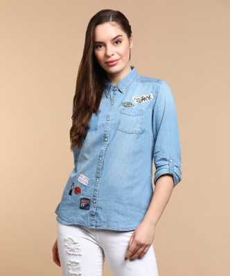 49aa794a193 Women s Shirts Online at Best Prices In India