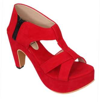 298c0bcdf Red Heels - Buy Red Heels online at Best Prices in India