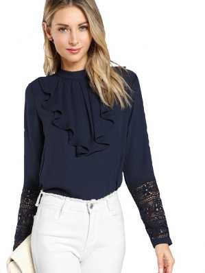6f6634e022ed9 Ruffles Tops - Buy Ruffles Tops Online at Best Prices In India ...