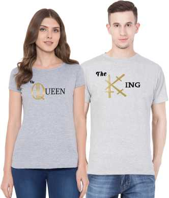 91e9823d Couple T Shirts - Buy Couple T Shirts online at Best Prices in India ...
