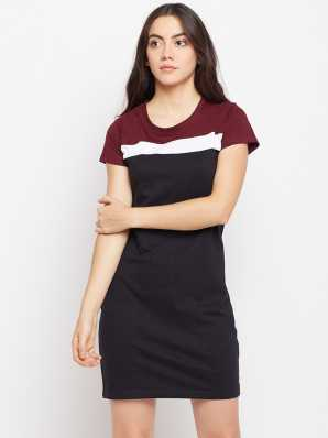 edd664137af Tshirt Dress Dresses - Buy Tshirt Dress Dresses Online at Best Prices In  India | Flipkart.com
