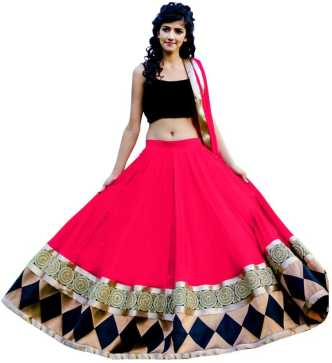 c8937eeeb42 Black Lehenga Cholis - Buy Black Lehenga Cholis Online at Best ...