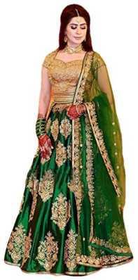 bdbca3fac56a0c Green Lehenga - Buy Green Lehenga Cholis Online at Best Prices In ...