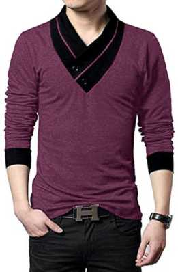 375dddda63a v-neck t-shirts for men s online at flipkart.com