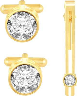 Cufflinks Brass Crystal Metal Cufflinks For Men Flipkart