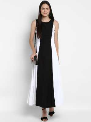 d01bf6fcd Long White Dresses - Buy Long White Dresses Online at Low Prices In ...