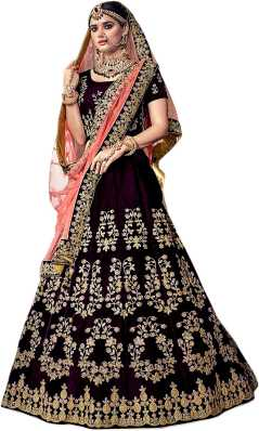 e6fc26419f6c Bridal Lehenga Choli - दुल्हन लेहेंगे | Latest Designer Wedding Lehenga  Collections | Dulhan Lehenga Online | Flipkart.com