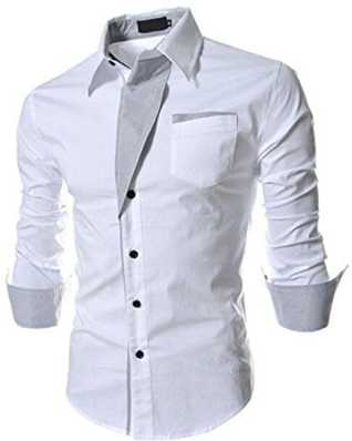 dc0bd72d81a9f White Shirts - Buy White Shirts Online at Best Prices In India ...