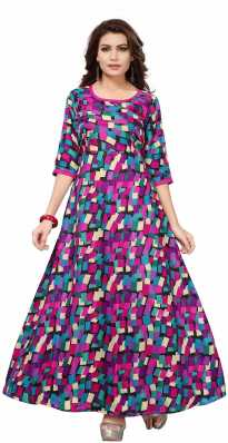 9c9a6a99c540 Full Sleeve Gowns - Buy Full Sleeve Gowns Online at Best Prices In ...