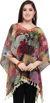 ba38a905787 Ponchos - Buy Poncho Tops   Pochu Dress Online for Women at Best ...