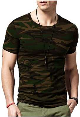 49aa82d7 Indian Army T Shirts - Buy Military / Camouflage T Shirts online at ...