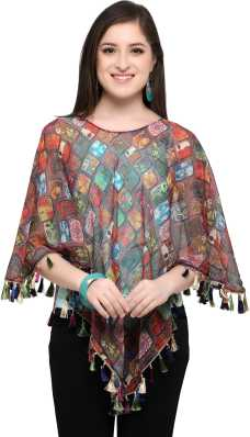 d9a6a11d1d0e Ponchos - Buy Poncho Tops   Pochu Dress Online for Women at Best ...