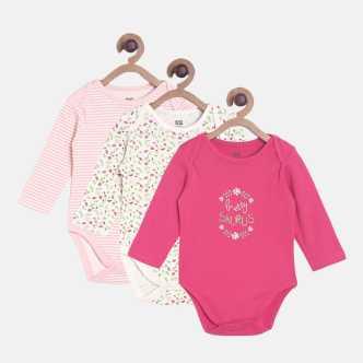 2cd29fba6 Baby Girls Bodysuits & Sleepsuits - Buy Online At Best Prices In ...