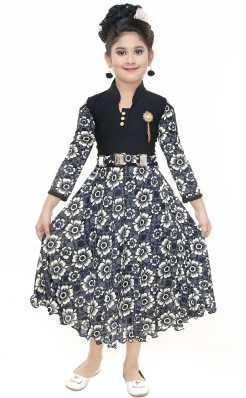 SBN Girls Midi Knee Length Party Dress