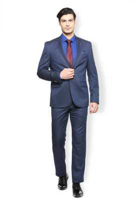3230e2637b2 Navy Blue Suit - Buy Navy Blue Suit online at Best Prices in India ...