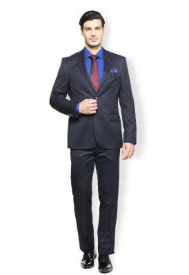 89dc22059 Navy Blue Suit - Buy Navy Blue Suit online at Best Prices in India |  Flipkart.com