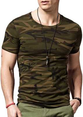 8a2987f1f6cd4 Indian Army T Shirts - Buy Military / Camouflage T Shirts online at best  prices - Flipkart.com