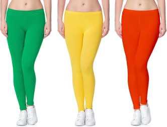 efee3564f2657 Light Green Leggings Jeggings - Buy Light Green Leggings Jeggings Online at Best  Prices In India | Flipkart.com