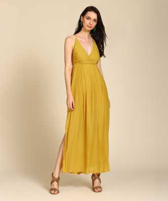 gold dresses buy gold dresses online at best prices in india