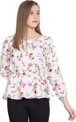cca77e78b2 Party Tops - Buy Latest Party Wear Tops Online at Best Prices In ...