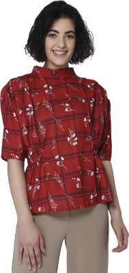 fa5e3424a3f94 Vero Moda Tops - Buy Vero Moda Tops Online at Best Prices in India ...