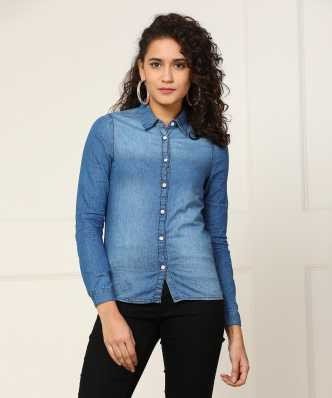 69dd38509 Women's Shirts Online at Best Prices In India|Buy ladies' shirts from best  brands | Flipkart.com