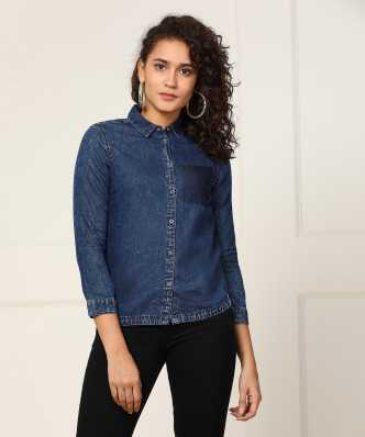 8b28a77e96 Women's Shirts Online at Best Prices In India|Buy ladies' shirts ...