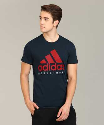 48f2de63 Adidas Tshirts - Buy Adidas T-shirts @ Min 50% Off Online for men ...