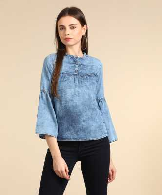 bfeaee6dc400d Pepe Jeans Tops - Buy Pepe Jeans Tops Online at Best Prices In India ...