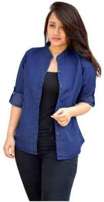 64fc245afae09 Women s Shirts Online at Best Prices In India
