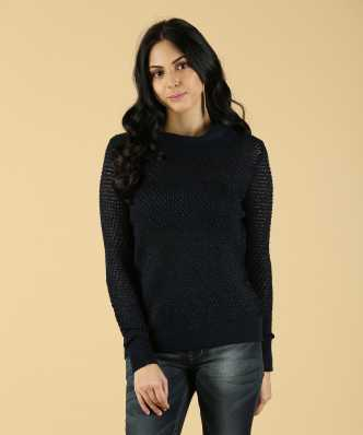 High Neck Sweater - Buy High Neck Sweater online at Best Prices in India  59e0f9b45