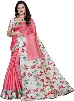 794cdc097b6b7f Pink Sarees - Buy Pink Colour Sarees Online at Best Prices In India |  Flipkart.com