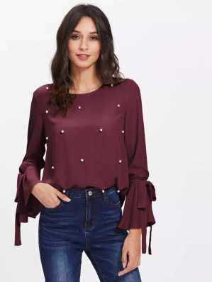 fea27157726 Full Sleeve Tops - Buy Full Sleeve Tops Online at Best Prices In India